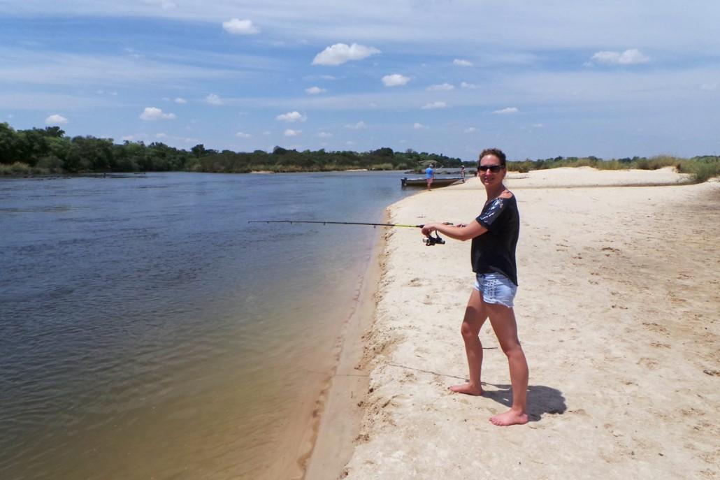 Fishing on the okavango river for tigerfish tilapia and for River fishing games