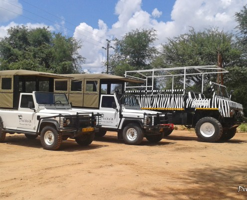 Mahango Game Reserve Vehicles of Divava Rsort & Spa