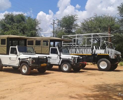Mahango Game Reserve Vehicles of Divava Rsort & Spa