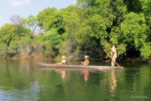 Mokoro boat trip Okavango by Divava Resort & Spa