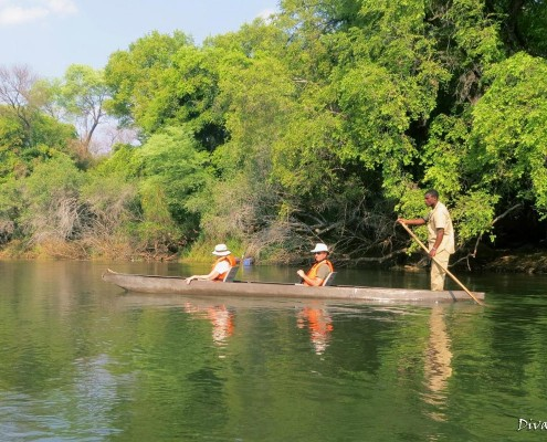 Mokoro boat trip Okavango by Divava Resort & Spa