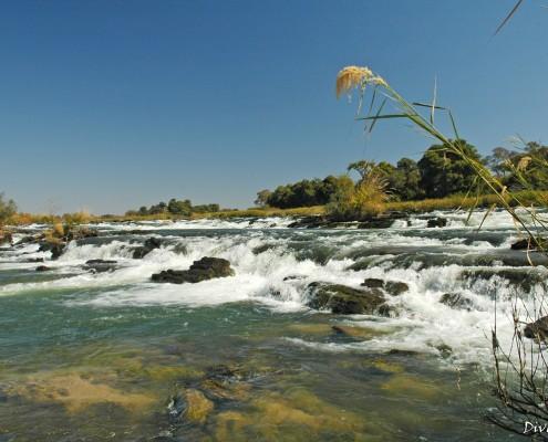 Papa Falls, just 1 km away